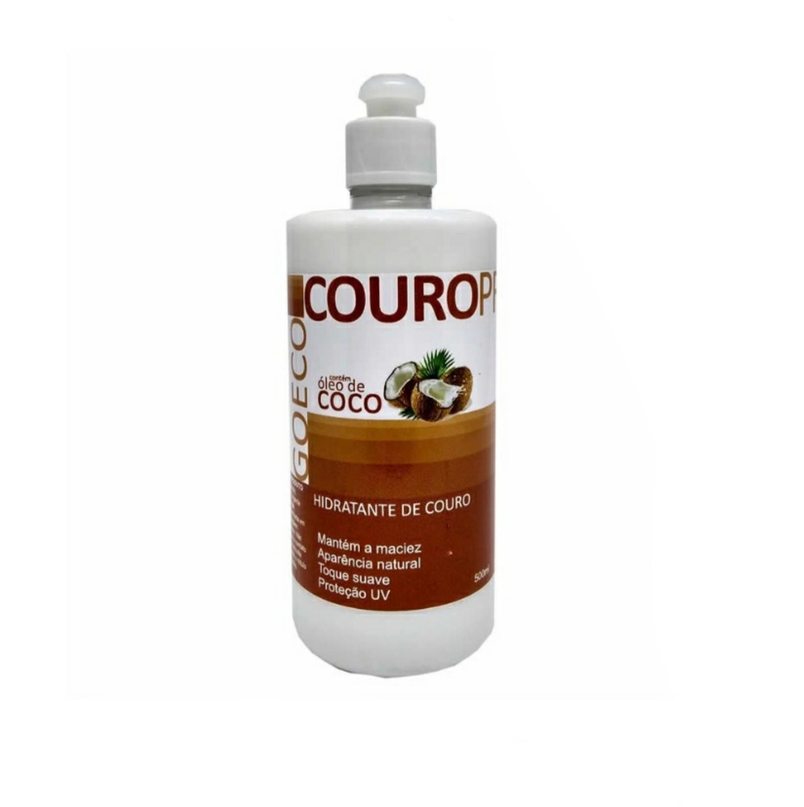 CouroPro 500ml - Hidratante de Couro com óleo de coco