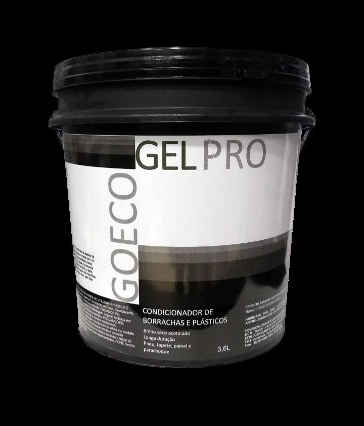GelPro - Gel Silicone renovador de plásticos e borrachas 3,6kg