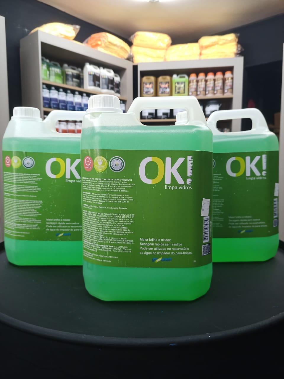 OK! Limpa vidros 5l Go Eco Wash