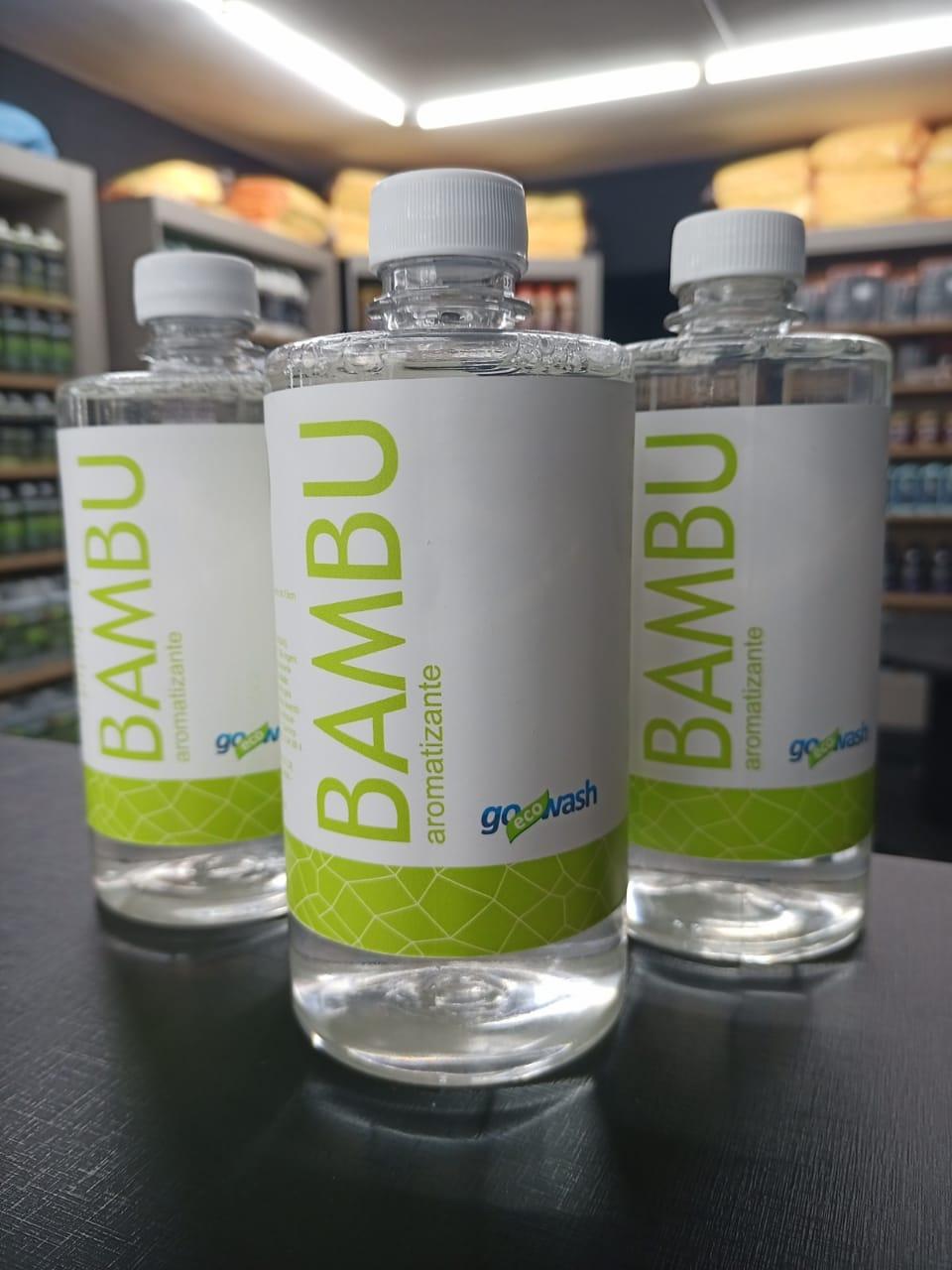 Perfume aromatizante automotivo Bambu 500ml - Go Eco Wash