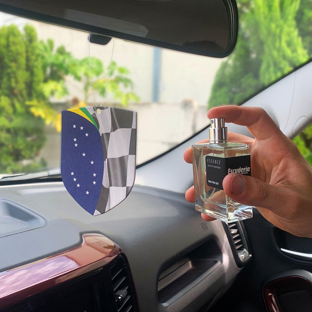 Perfume automotivo concentrado 50ml Super Million - Escuderia do Brasil