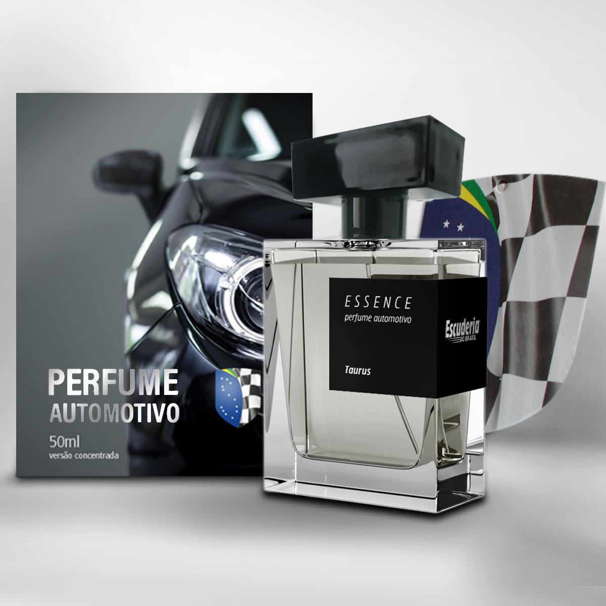 Perfume automotivo concentrado 50ml Taurus - Escuderia do Brasil