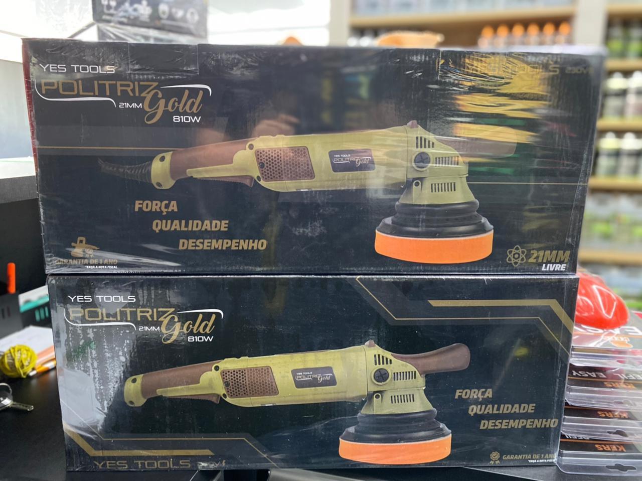 Politriz Roto Orbital 21mm Gold Yes Tools 810W 230V - Kers