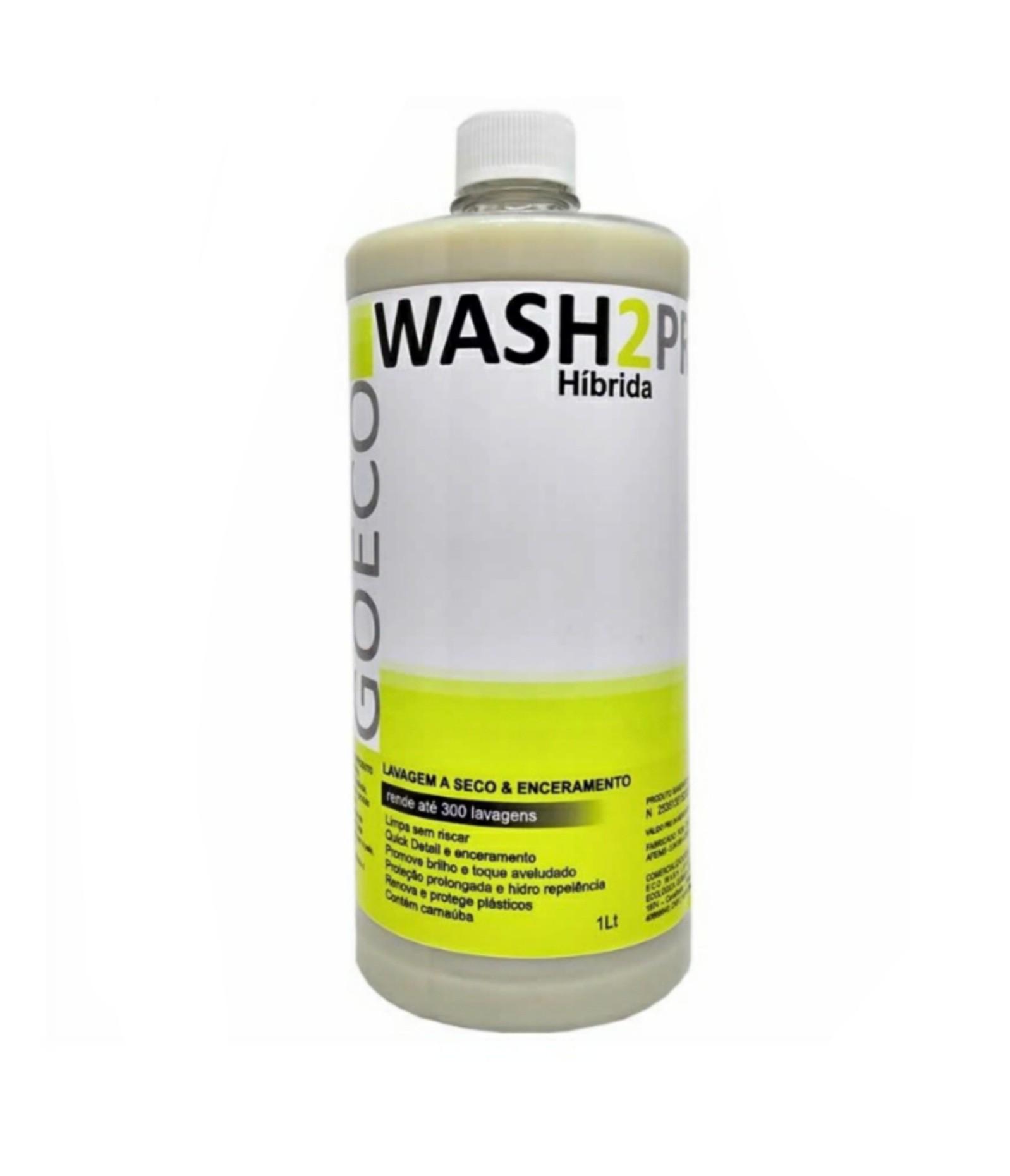 Wash2Pro Híbrida 1LT - Lavagem a seco e Enceramento - 300 lavagens