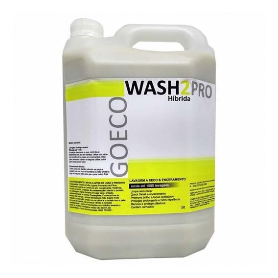 Wash2Pro Híbrida 5LT - Lavagem a seco e Enceramento - 1500 lavagens