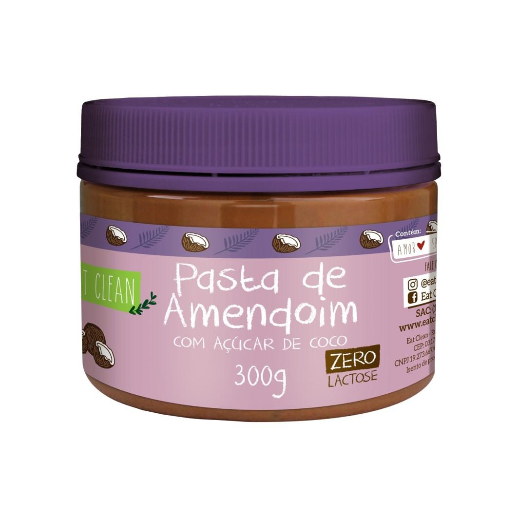 Pasta de Amendoim Acucar de Coco - POTE 300G