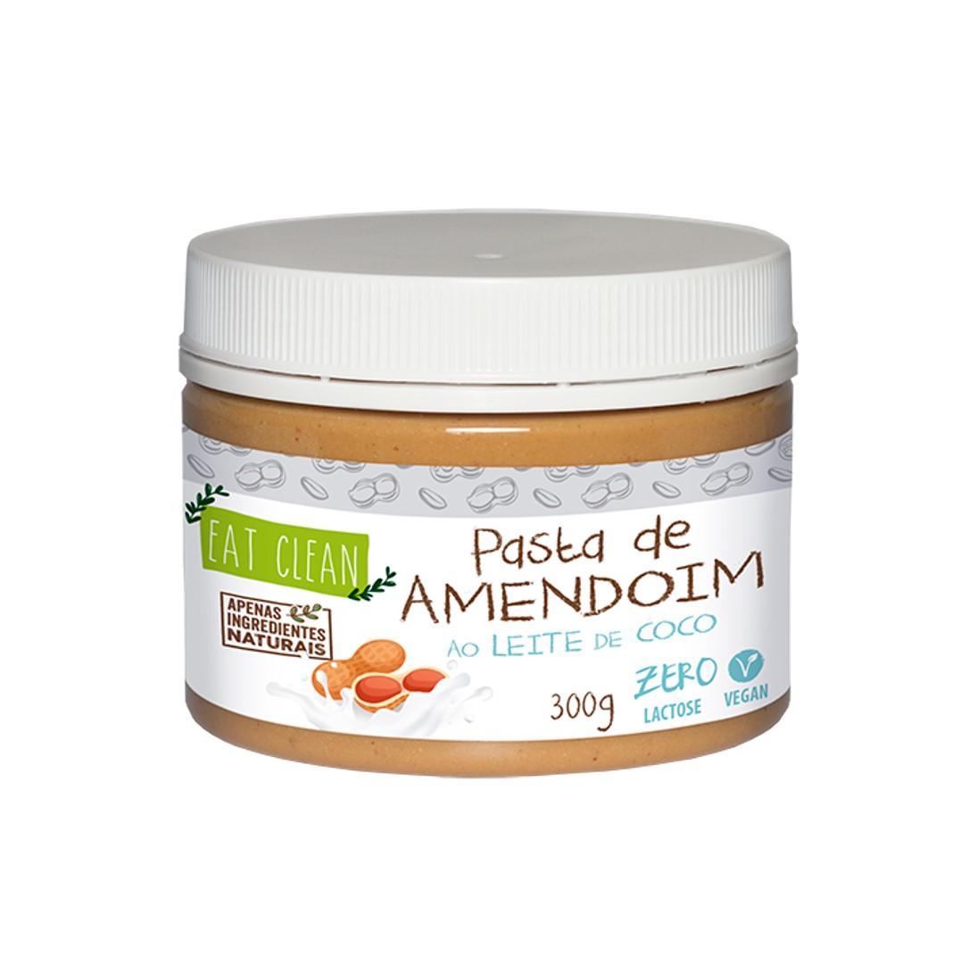 Pasta de Amendoim ao LEITE DE COCO- POTE 300G