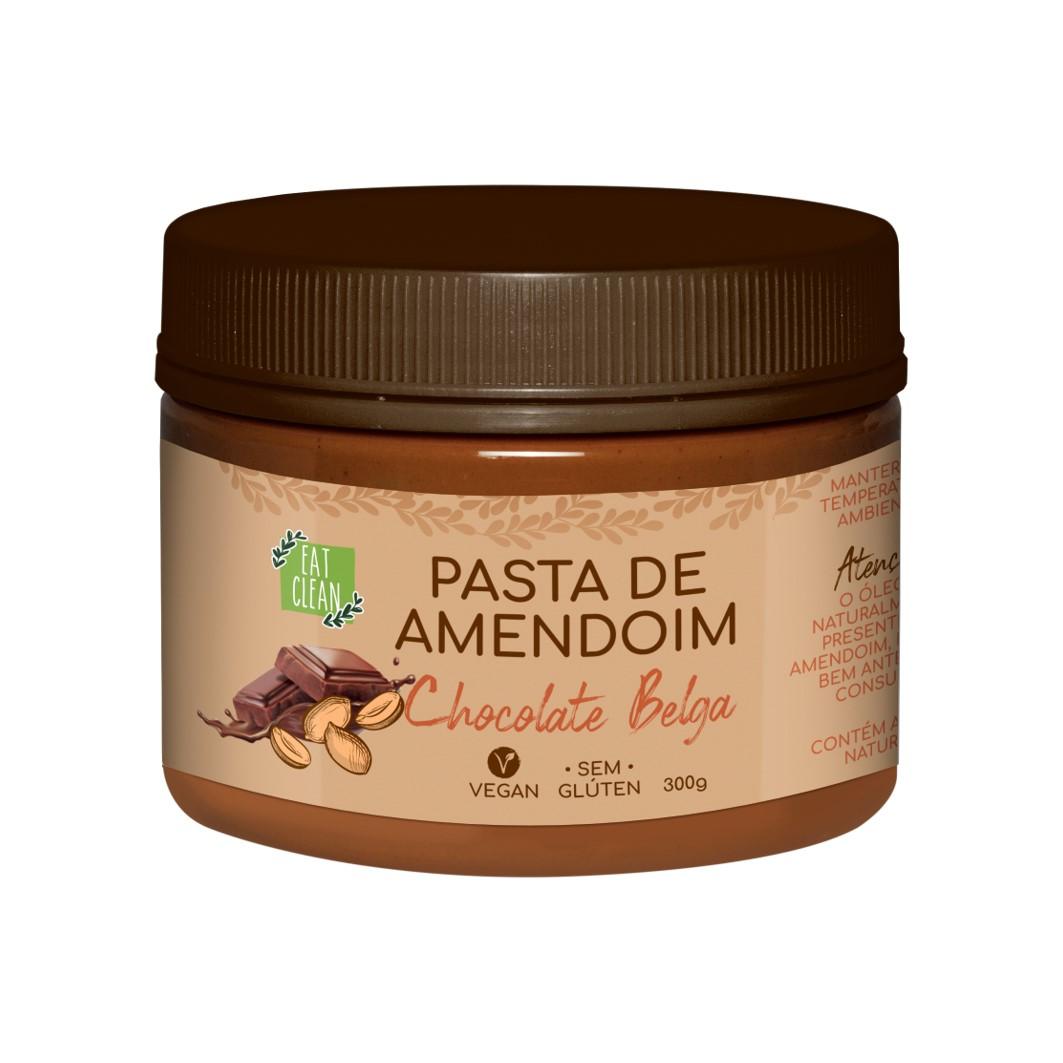 Pasta de Amendoim Chocolate Belga - Pote 300g