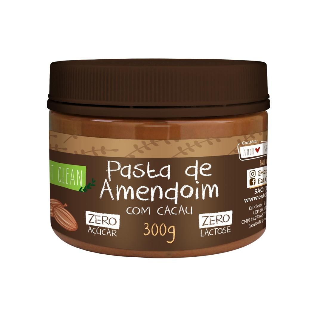 Pasta de Amendoim com Cacau Zero Açucar POTE 300G