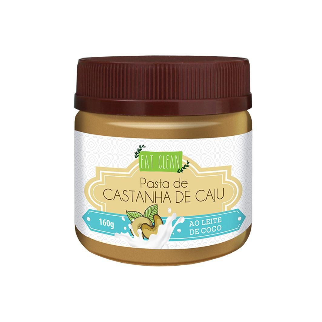 Pasta de Castanha de Caju ao Leite de Coco - POTE 160g