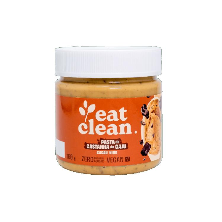 Pasta de Castanha de Caju Cacau Nibs - Pote 160g