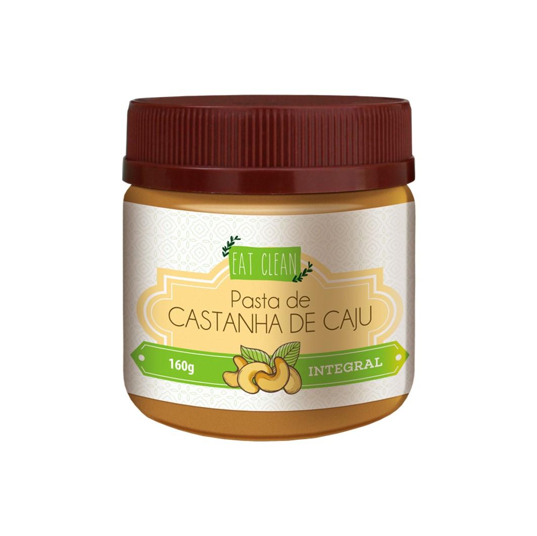 Pasta de Castanha de Caju Integral - Pote 160g