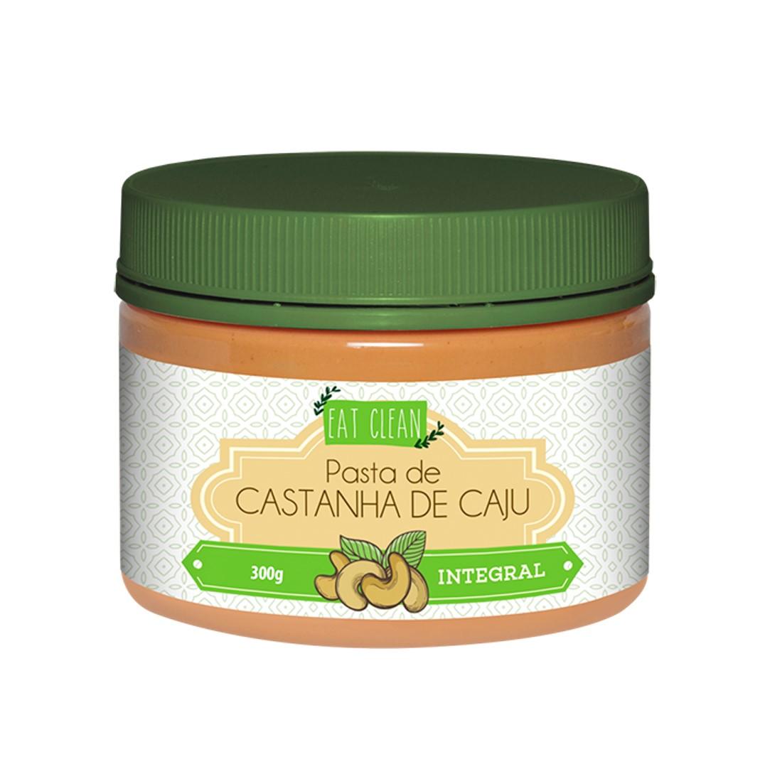Pasta de Castanha de Caju Integral - Pote 300g