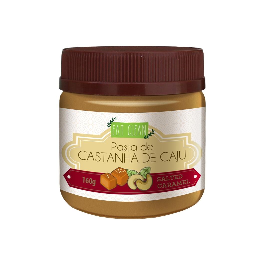 Pasta de Castanha de Caju Salted Caramel - Pote 160g