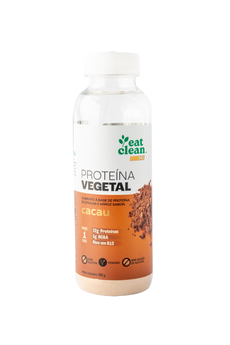 Proteína Vegetal Cacau - Garrafa 30g