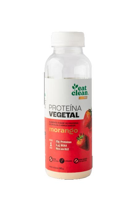 Proteína Vegetal Morango - Garrafa 30G