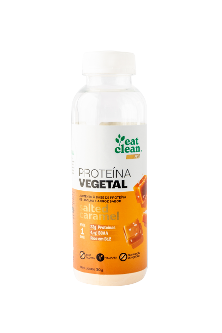 Proteína Vegetal Salted Caramel - 30g