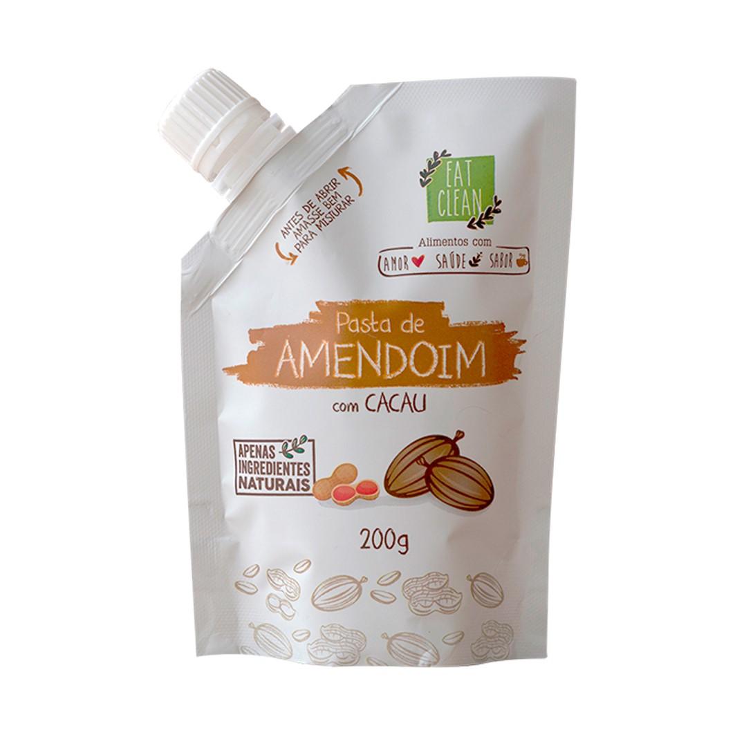 Saquinho 200g - Pasta Amendoim com Cacau