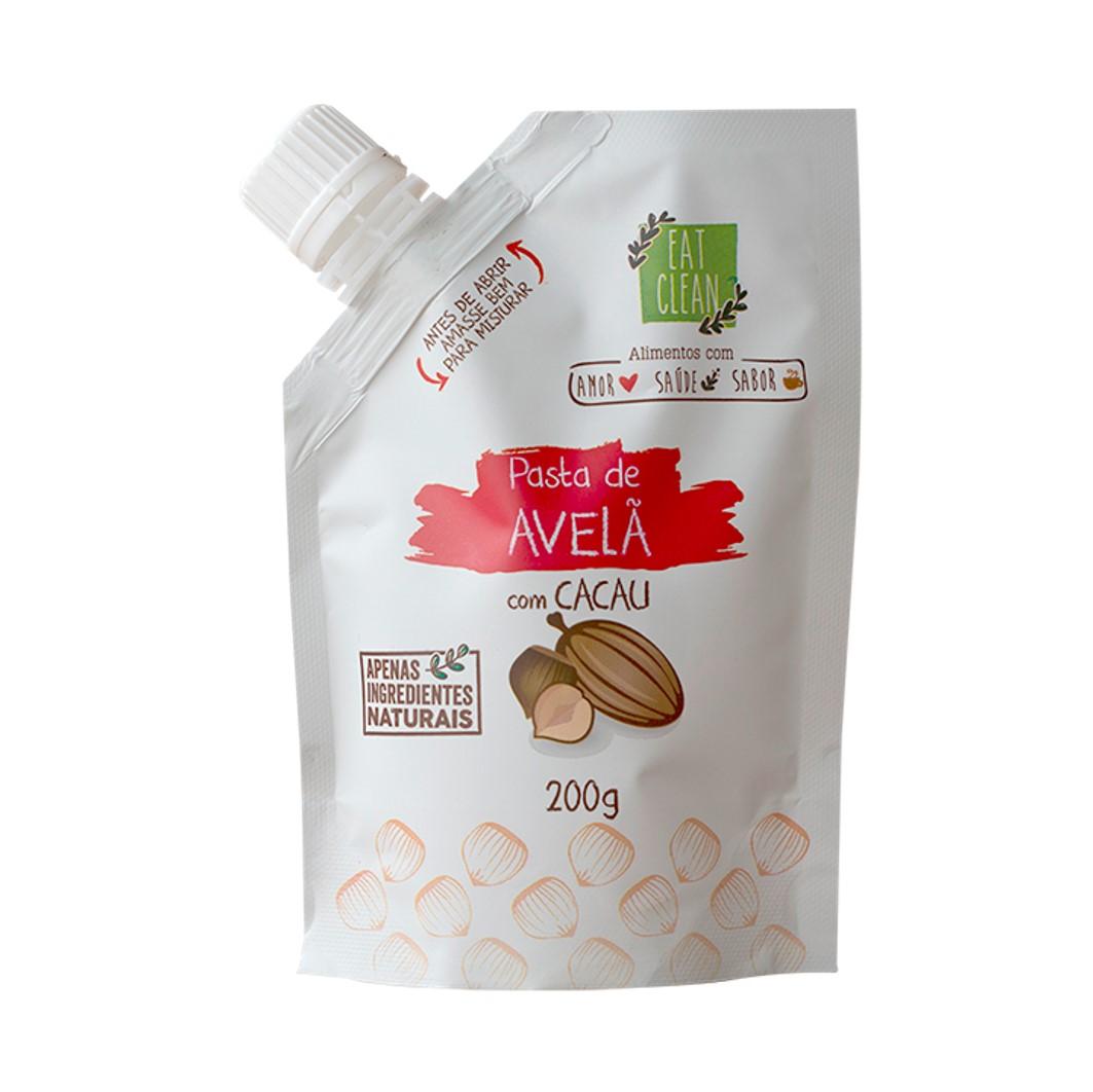 Saquinho 200g - Pasta Avelã & Cacau