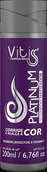 Shampoo Matizador Platinum Vitiss