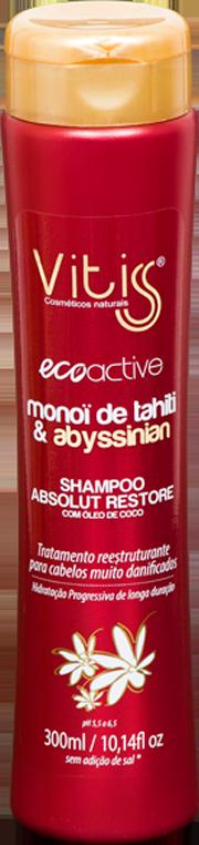 Shampoo Monoi de Tahitï Vitiss