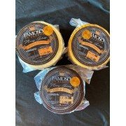 TRIO FAMOSO - 3 queijos artesanais ALAGOA - TRADICIONAL, DEFUMADO E AO VINHO - 1KG cada peça