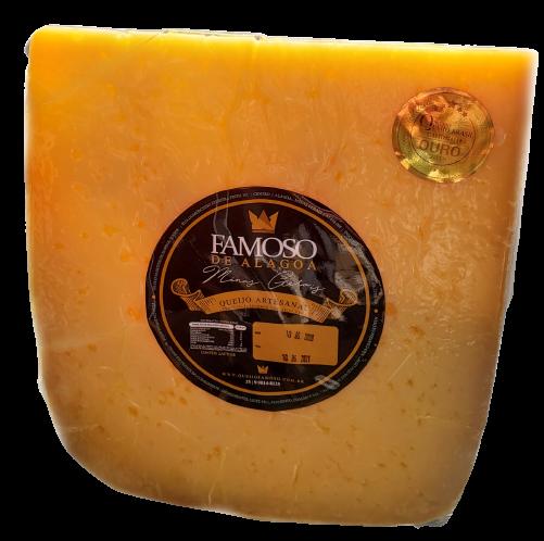 Fatia de queijo GRAN ALAGOA - 6 meses de maturação - 500 gramas