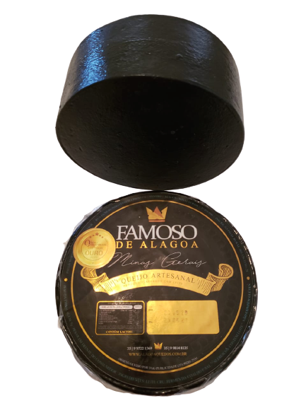 Queijo Capa Preta - Famoso de Alagoa - 500grs