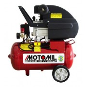 Compressor 7,6 Pes 24 Litros 220V Motomil