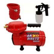 Compressor Ar Direto com Kit de Pintura Chiaperini