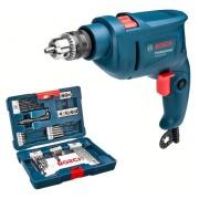 Furadeira Impacto Gsb 450 W Reversivel Bosch + Kit 41 V-line