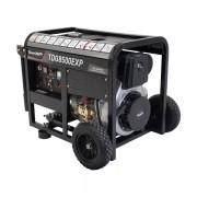 Gerador a Diesel TDG8500EXP 7kVA Monofásico Partida Elétrica