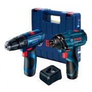 Kit Combo Furadeira Parafusadeira de Impacto GSR 120 + Chave de Impacto GDR 120 220V Bosch