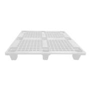Pallet Plástico 1,20x1x15 Encaixe Branco