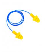 Protetor Auricular Plug Amarelo Copolímero com cordão Dystray
