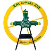 Roda D'água 1,4x0,18M Com Bomba Hidráulica ZM 51 Com Cavalete