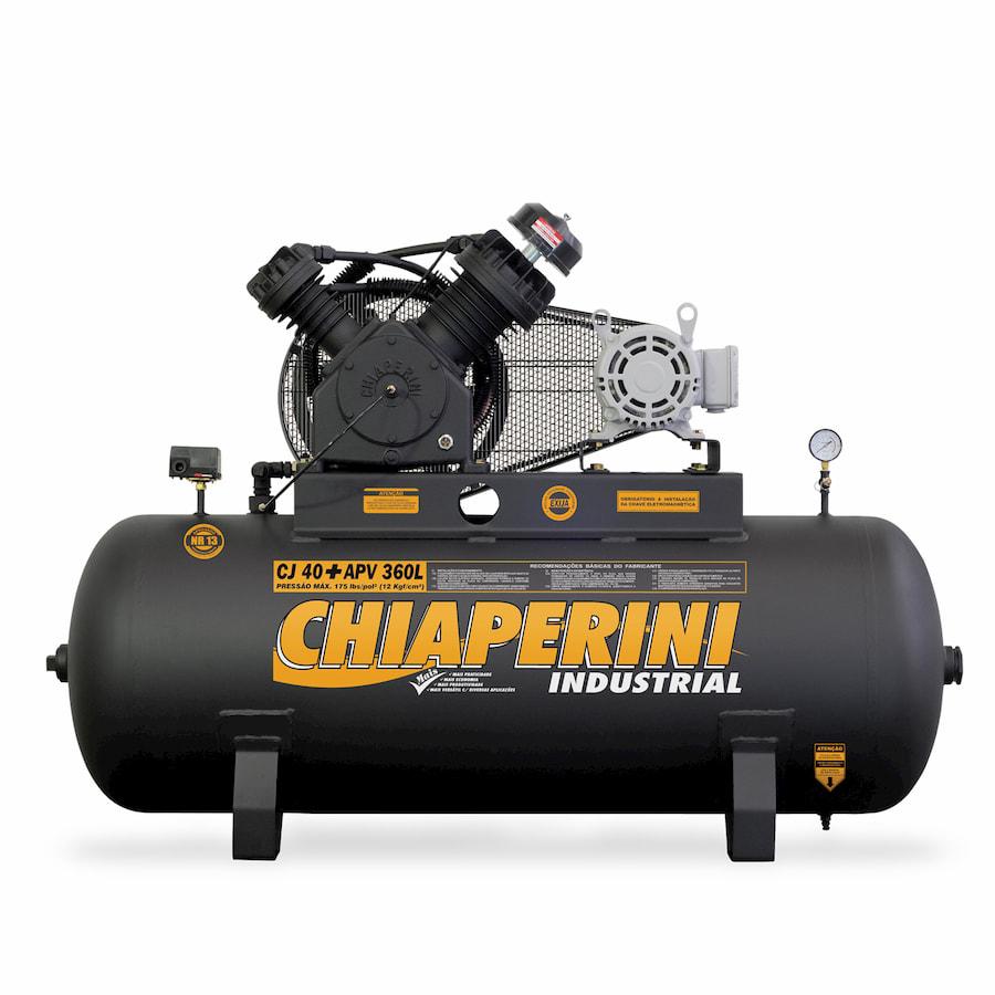 Compressor de Ar Alta Pressão 40 pcm 360 litros CJ 40+ APV 360L Chiaperini