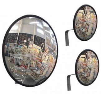 Espelho Convexo Diâmetro 60cm Com Suporte