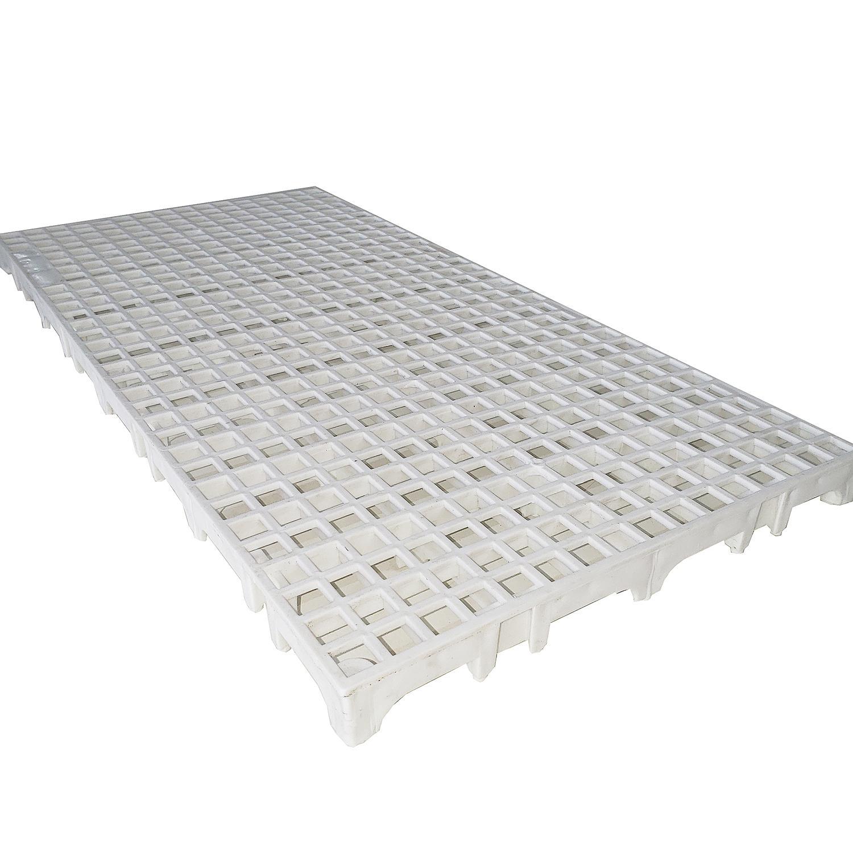 Estrado Plástico 25x50cm Branco