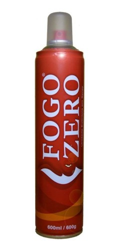 Fogo Zero Unidade Extintora 600ml
