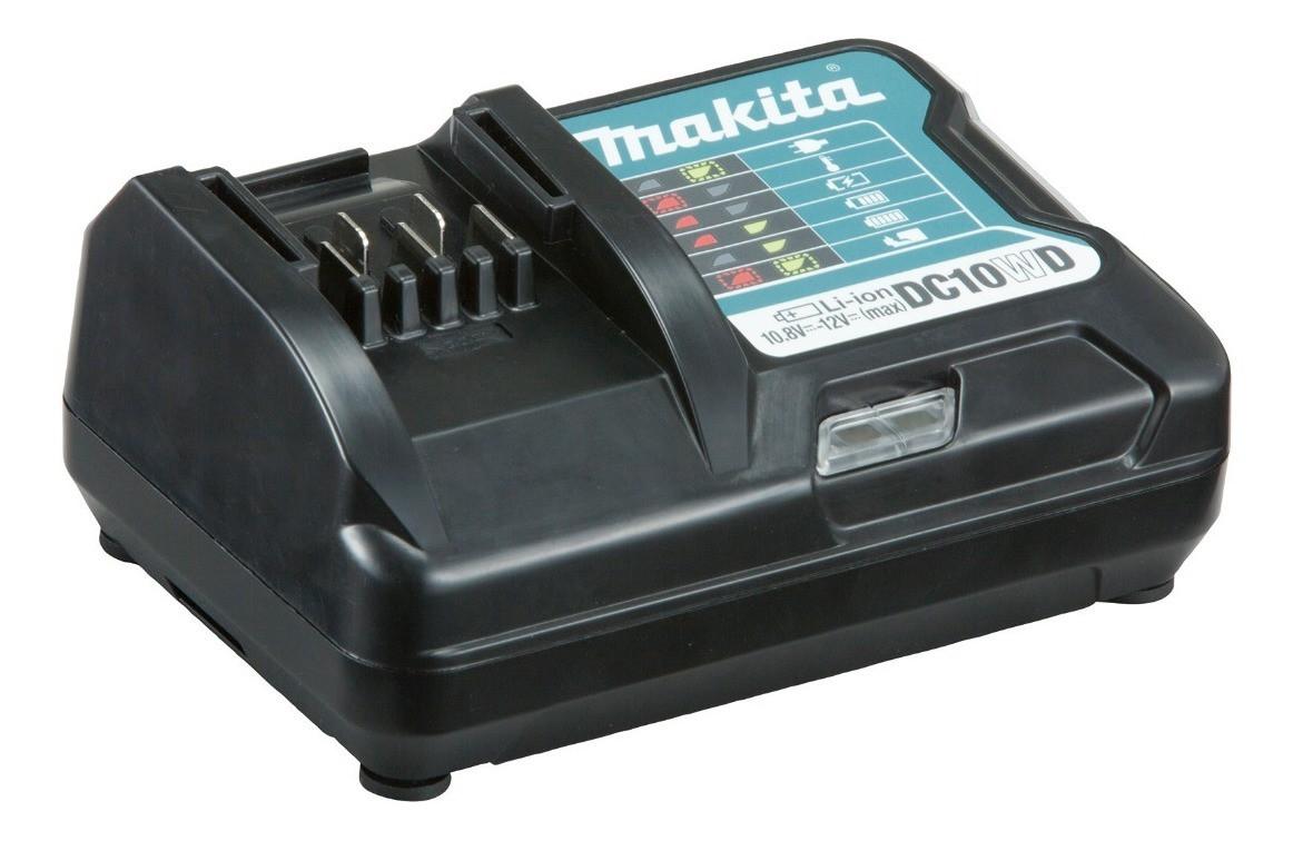 Furadeira Parafusadeira de Impacto Bivolt HP333DWYX3 12V Makita