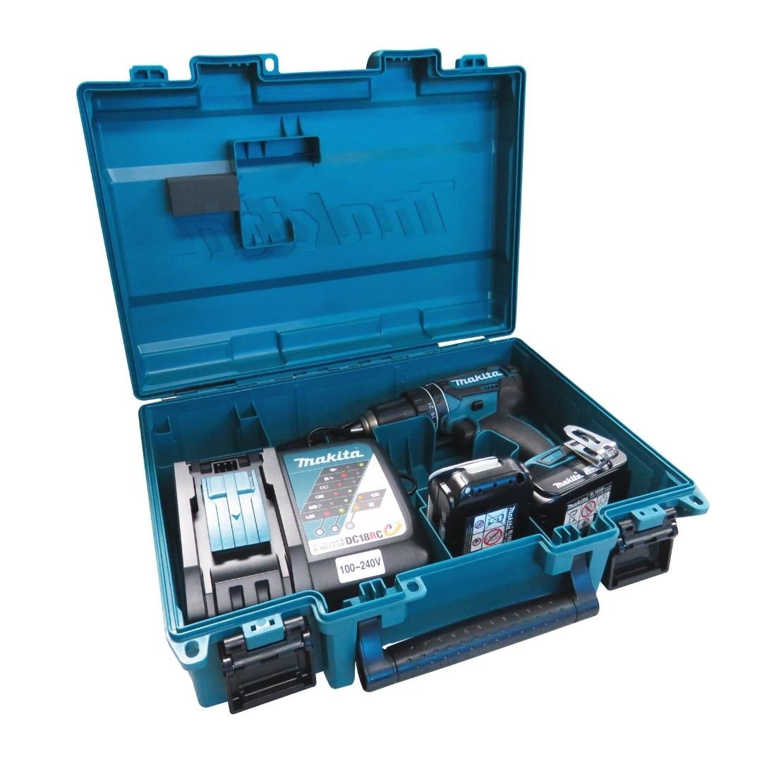 Furadeira Parafusadeira de Impacto DHP482RAE 2 Baterias 18V Bivolt Makita