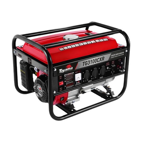 Gerador a Gasolina TG3100CXR Bivolt Monofásico 2800W Toyama