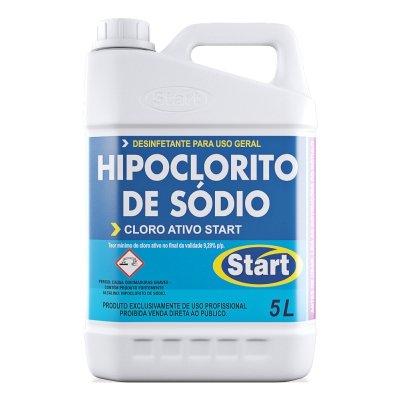 Hipoclorito de Sódio - Cloro Ativo Start