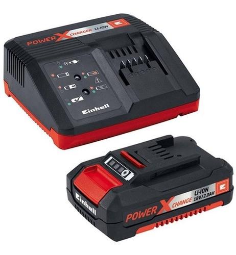 Kit Bateria e Carregador 18V 2Ah PXC 220V Einhell