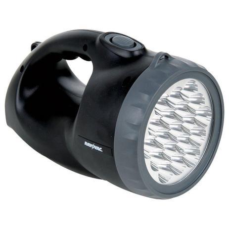 Lanterna Rayovac Recarregável Hibrida Com 19 Leds
