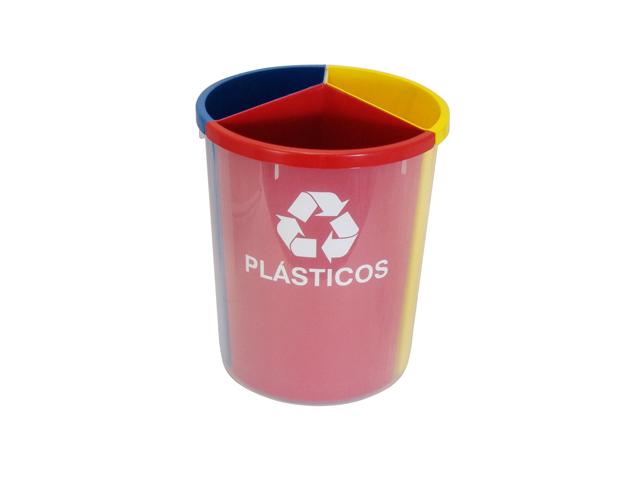 Lixeira Mix 3 Plástico
