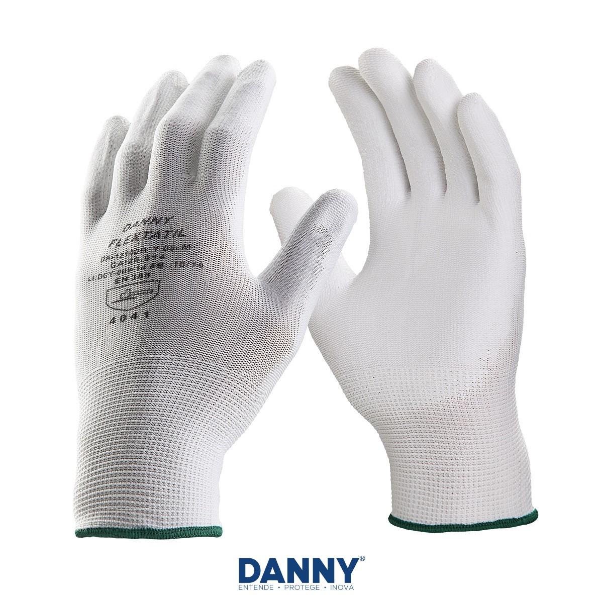 Luva Danny Flextatil Sensitiva Diversos Tamanhos
