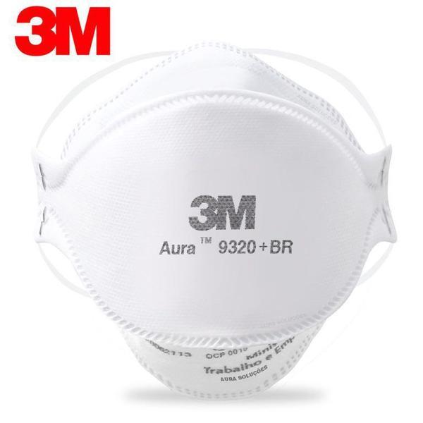 Máscara 3M Descartável Aura 9320