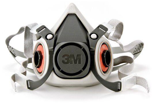Máscara 3M Semifacial 6200/6100 Sem Filtro